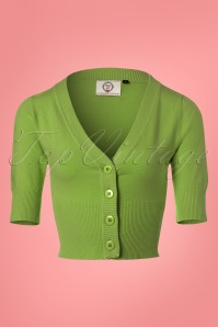 Dancing Days by Banned Overload Cardigan in Apple Green 140 30 24327 20180125 0004W