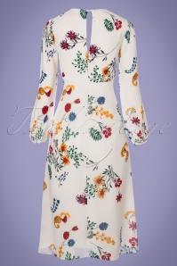 Traffic People Mama Mia White Floral Dress 102 59 23602 20180124 0008w