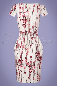Closet London Floral White Tulip Dress 100 59 24460 20180125 0009w
