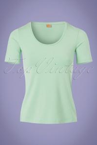 50s Praal T-Shirt in Mint Green