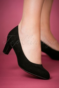 Tamaris Black Pumps 400 10 23979 model 25012018 005W