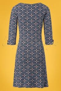 Le Pep Echelle Dress in Royal Blue 100 39 23323 20180130 0008W