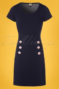 Mademoiselle Yeye Lola Dress in Denim 106 30 23670 20171207 0004W