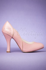Pinup Couture 50s Classy Pink Pumps 400 22 24630 31012018 006W