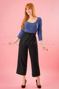 Mademoiselle Yeye Black Trousers 131 10 23658 20171211 0005w
