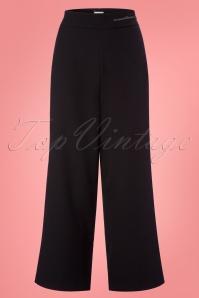 Mademoiselle Yeye Black Trousers 131 10 23658 20171211 0001w