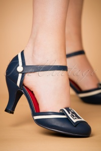 Dancing Days by Banned Mary Jane Navy Pumps 402 31 24141 25012018 002W