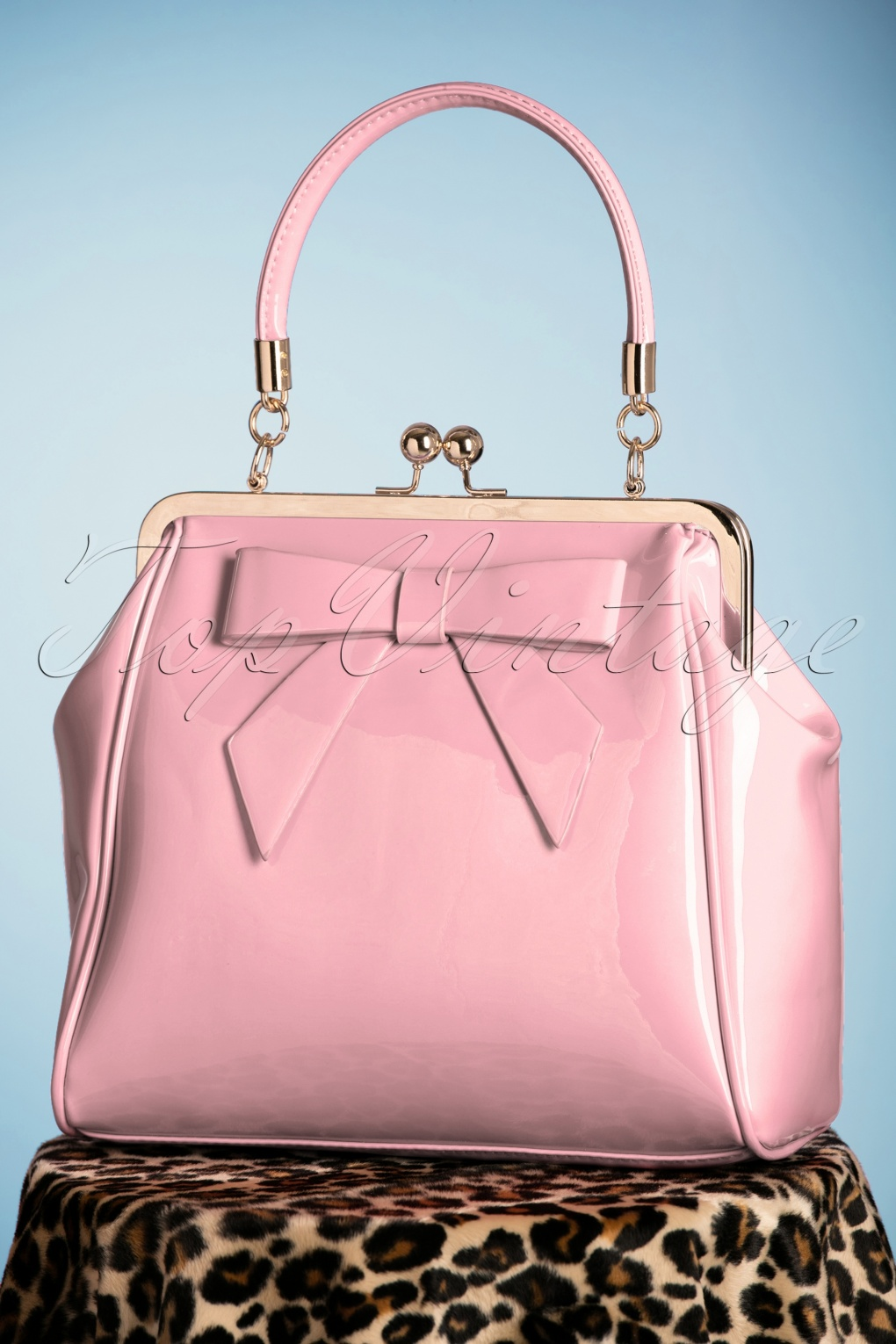 1960s Style Dresses, Clothing, Shoes UK 50s American Vintage Patent Bag in Pink £35.87 AT vintagedancer.com