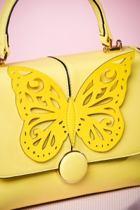 Dancing Days by Banned Yellow Butterfly Handbag 212 80 24109 24012018 019