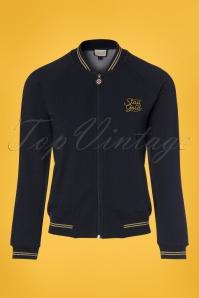 Mademoiselle Yeye Kiara Jacket in Denim 153 30 23647 20171211 0002w