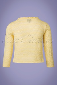 Mademoiselle Yeye Antonia Lemon Yellow Jacket 153 80 23657 20180202 0006W