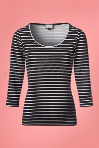 Mademoiselle Yeye Emily Striped Top  111 14 23643 20180202 0001w