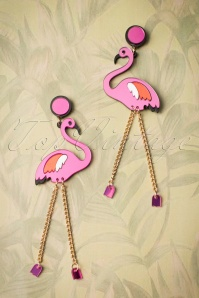 Love Ur Look Flamingo Earrings 333 20 24048 01022018 005W