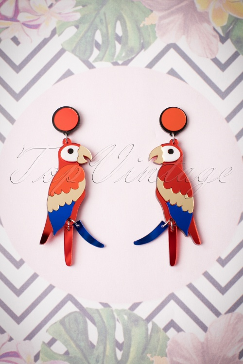 Love Ur Look Parrot Earrings 333 20 24051 01022018 007W