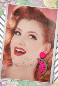 Love Ur Look Watermelon Earrings 333 22 24054 01022018 015W