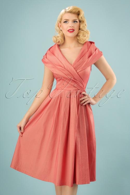 swing red bettie plaid dress