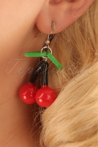 Vixen Cherry Red Earrings 333 20 24367 17022014 001W