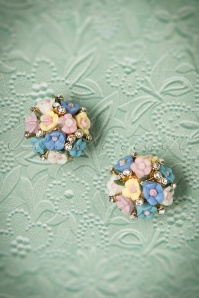 Collectif Clothing Floral Earrings 330 39 24361 22112017 002W