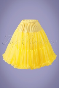 50s Lola Lifeforms Petticoat in Yellow