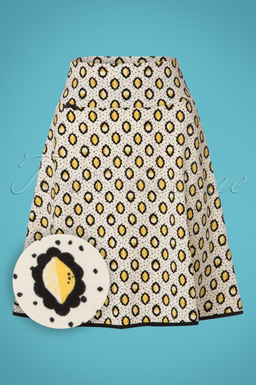 Blutsgeschwister Let's Twist Again Lemon Skirt 122 57 23473 20180212 0002W1
