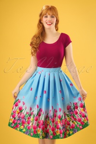Bunny Angelique Skirt in Blue 24082 20171222 0008w