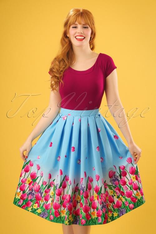 Bunny Angelique Skirt in Blue 24082 20171222 0008w