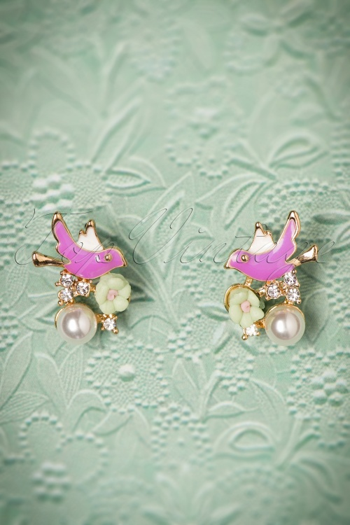 Collectif Clothing Bird Earrings 330 69 24363 22112017 002W