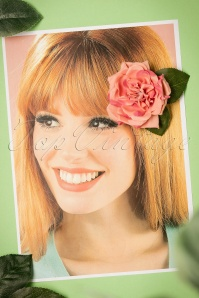 Collectif Clothing Garden Rose Hairclip 200 22 24371 15112017 003W