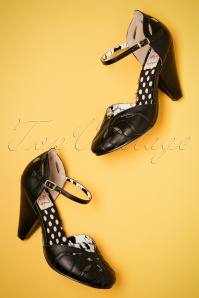 50s Sally Pumps in Black