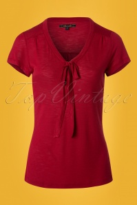 King Louie Goldie Top Bow in Ruby Red 23304 20171220 0002W