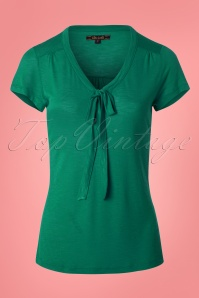 King Louie Goldie Top Bow in Green  23302 20171220 0002