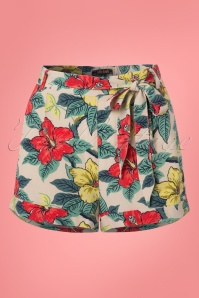 King Louie Roisin Hibiscus Shorts  130 57 23196 20180215 0003W