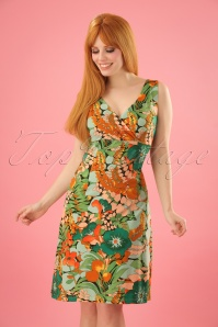 King Louie Ginger Dress Mambo in Forest Green 23288 20180116 1W