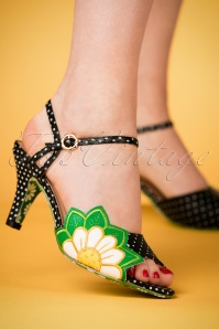 Dancing Days by Banned Peeptoe Polkadot Sandal 403 10 24124 07022018 004W