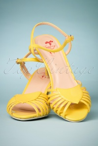 Dancing Days by Banned Amelia Yellow Sandals 420 80 24121 14022018 005W