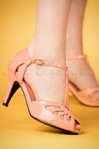 Joe Browns Couture Pink T strap Pumps 401 22 24132 07022018 001W