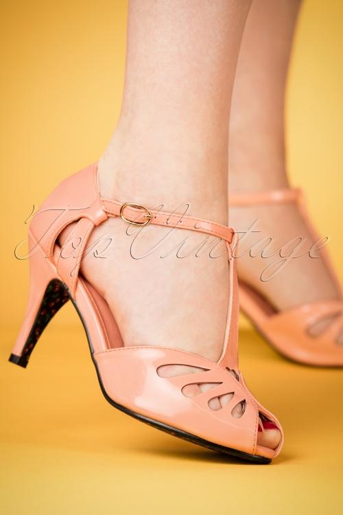 40s Sandales D'amour Secrètes En Rose Blush Wcl4PkX
