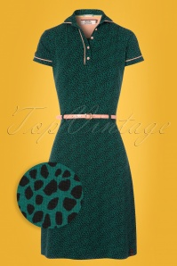 4FunkyFlavours Green Dress 100 39 22775 20180215 0002wv