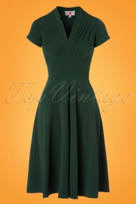 Miss Candyfloss New signature Emerald Miss Claudette Dress 102 40 24172 20180215 0001W