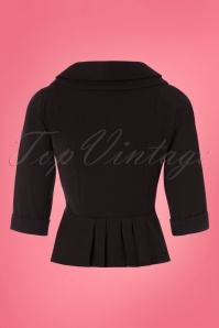 Miss Candyfloss Black Suit Jacket 153 10 24188 20180215 0005W