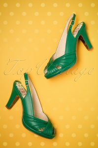 Bettie Page Selene Green Sandals 420 40 23676 14022018 006bW