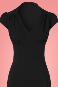Vintage Chic Black Wrap Dress 100 10 24512 20180216 0002c