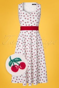 Vintage Chic White Cherry Dress 102 59 22658 20180216 0001wv