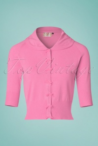 Dancing Days by Banned April Short Sleeves Cardigan in Pink 24295 20160922 0008w