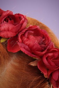 Collectif Red Rose Headband 200 20 24369 03032014 002W