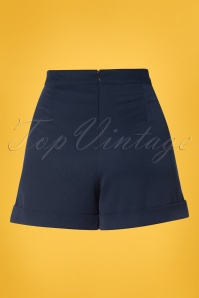 Banned Betsey Shorts Navy 24276 03w