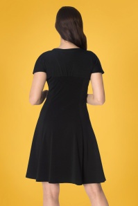 Banned It's the Twist Dress Black 24312 02