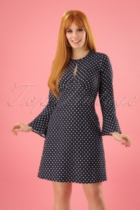 Closet London Split Neck Polkadots and Hearts Dress 106 39 24452 20180109 0006W (2)