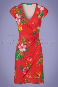 Lien & Giel Paradise Coral Dress 100 29 22852 20180221 0001w