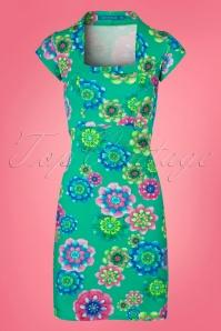 60s Doll Ice Dress in Jade